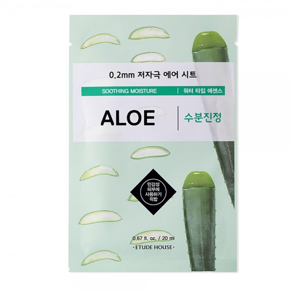 Etude House 0.2 Therapy Air Mask (Aloe Vera)