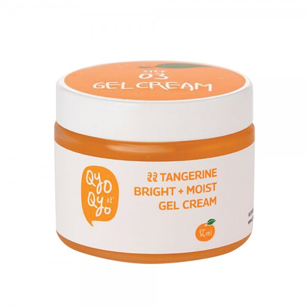 Qyo Qyo Tangerine Bright+Moist Gel Cream