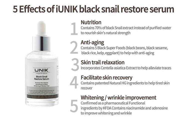 iunik-black-snail-restore-serum-vorteile