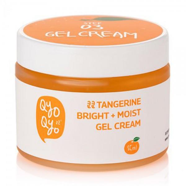 Qyo Qyo Tangerine Bright+Moist Gel Cream