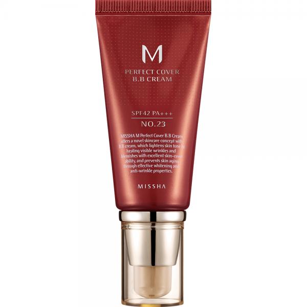 Missha M Perfect Cover B.B Cream SPF42 N0. 23 (Natural Beige)