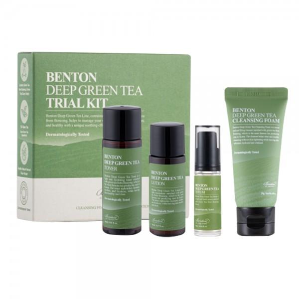 Benton Deep Green Tea Trial Kit