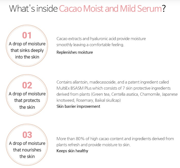BENTON Cacau moist and mild serum
