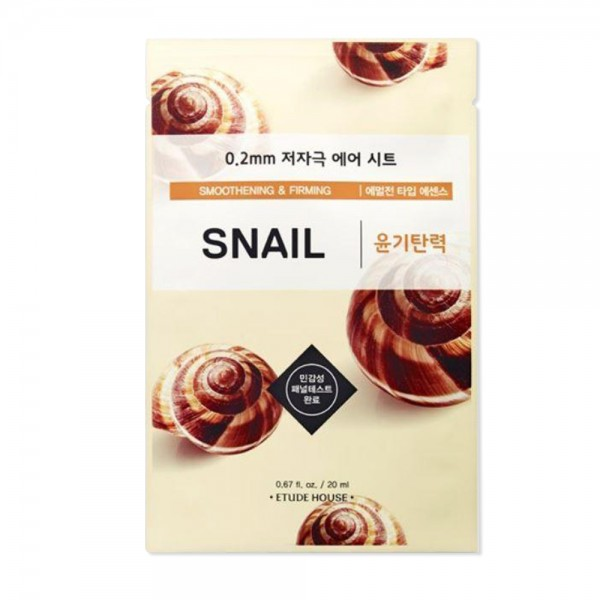 Etude House 0.2 Therapy Air Mask (Snail)