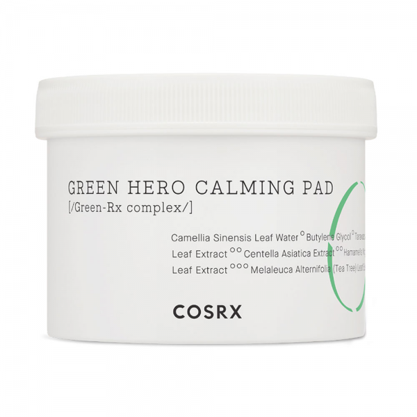 Cosrx One Step Green Hero Calming Pad