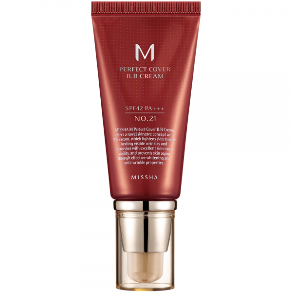 Missha M Perfect Cover B.B Cream SPF42 N0. 21 (Light Beige)