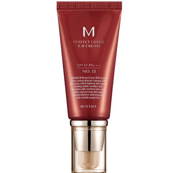 Missha M Perfect Cover B.B Cream SPF42 N0. 13 (Milky Beige)