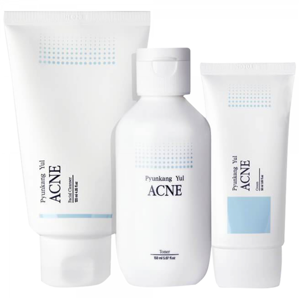 PYUNKANG YUL Acne Line 3 Step Set / unreine Haut