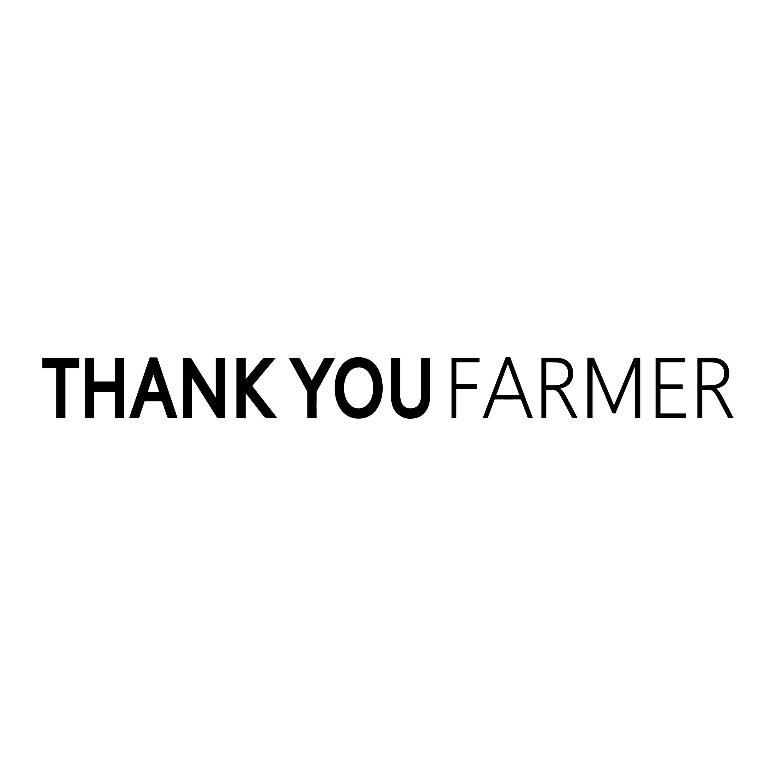 Thank You Farmer
