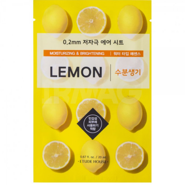 ETUDE HOUSE 0.2 Therapy Air Mask (Lemon)