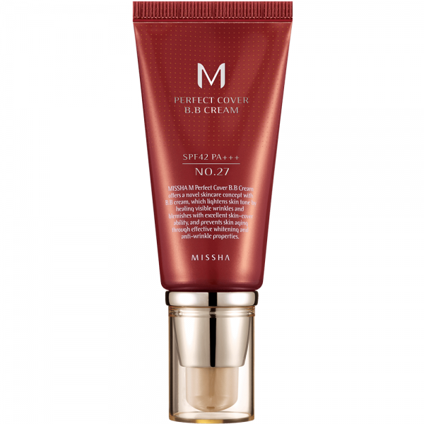 MISSHA M Perfect Cover B.B Cream SPF42 N0. 27 (Honey Beige)