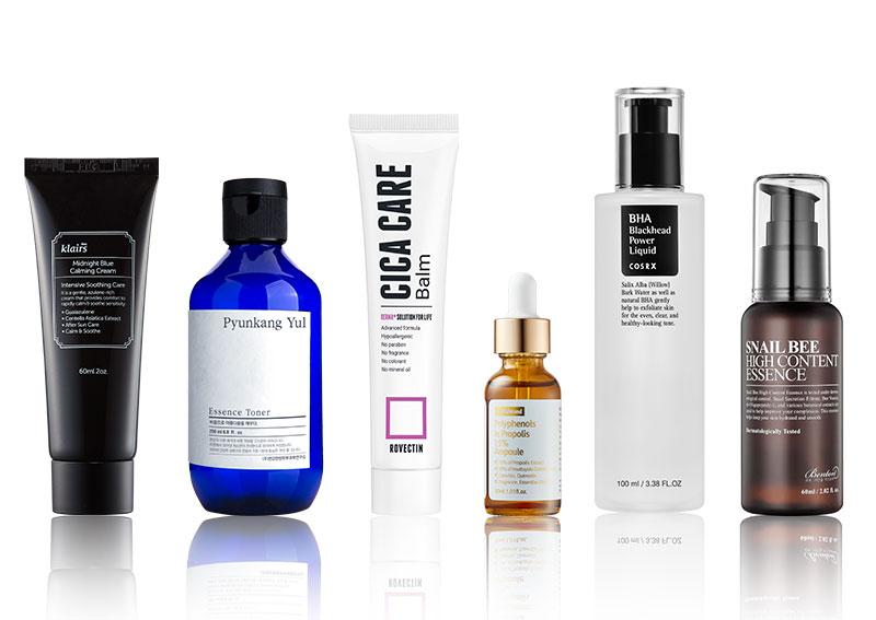 Koreanische Hautpflege Marken