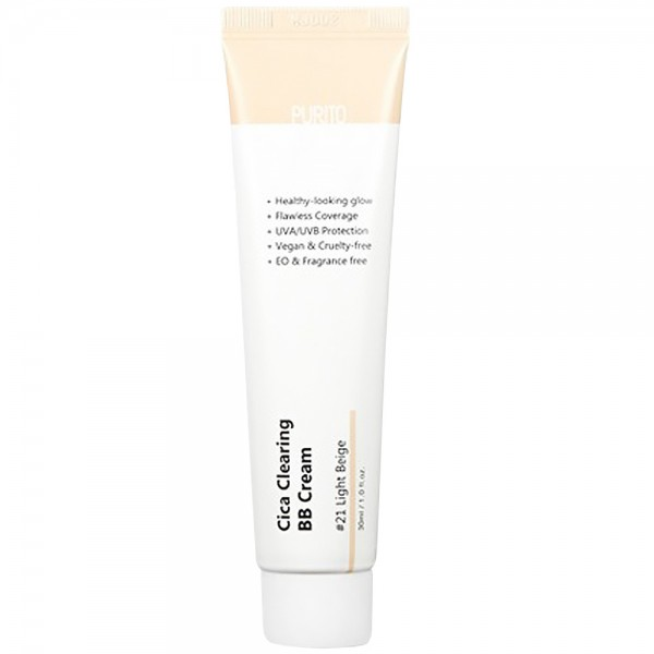 Purito Cica Clearing BB Cream 21 Light Beige