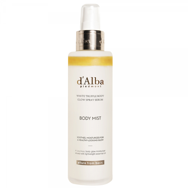 d'Alba White Truffle Body Glow Spray Serum