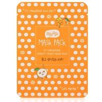 Qyo Qyo Tangerine Bright + Moist Mask Pack